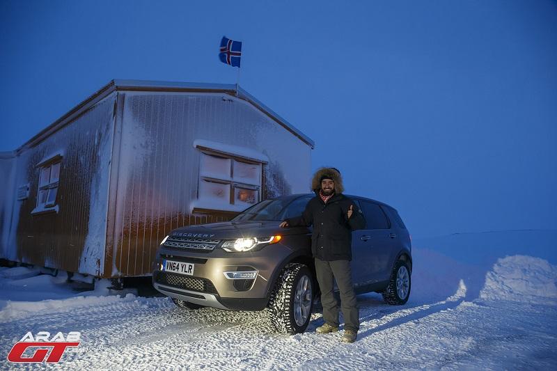 تجربتنا لسيارة لاند روفر ديسكفري سبورت 2015 في الأجواء المتجمدة
