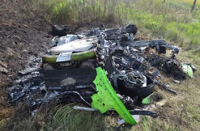 فيديو: لمبرجيني هوراكان تتحطم على سرعة 320 كم/س
