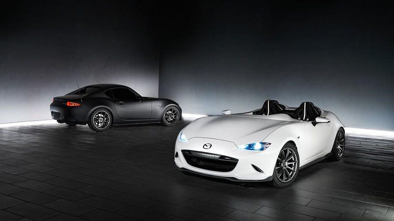 مازدا تكشف عن سيارتين جديدتين في سيما