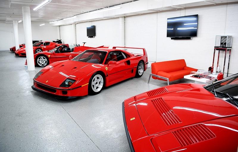 مجموعة سيارات فيراري