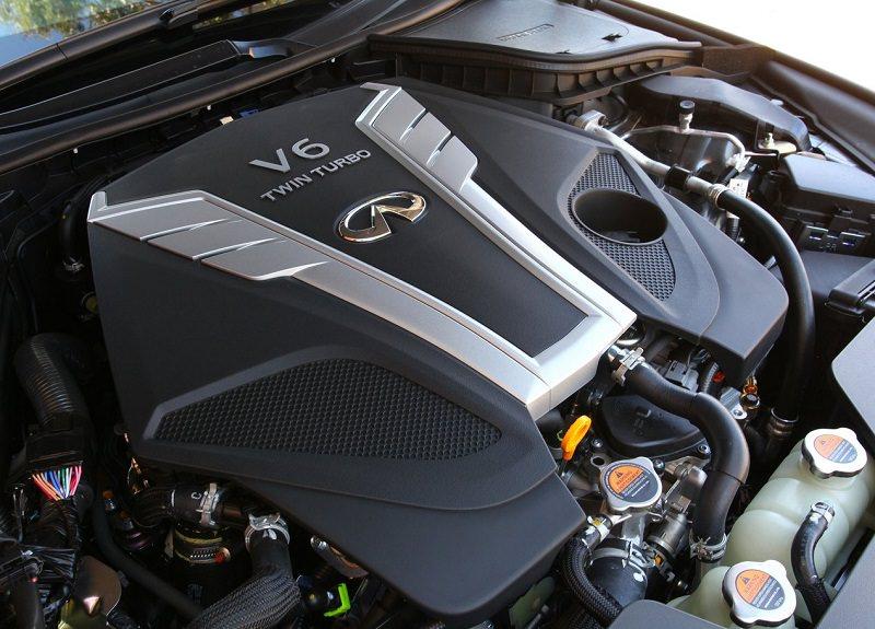 محرك انفينيتي Q60 2017