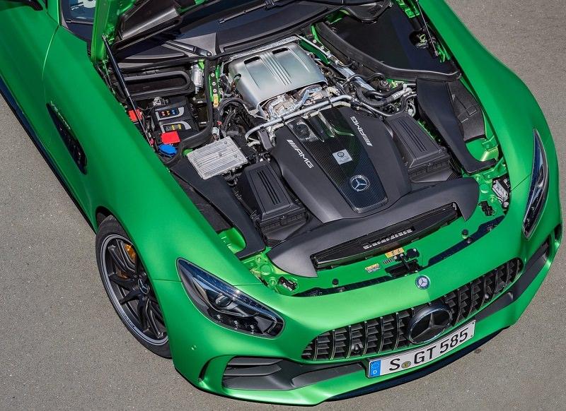 موتور مرسيدس AMG GT R 2017