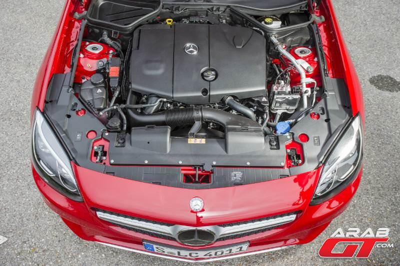 محرك مرسيدس SLC43 AMG 2017