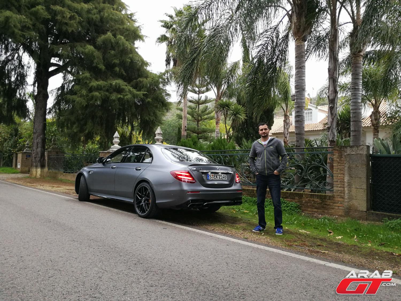أسرع سيارة مرسيدس إنتاجية-من الخلف