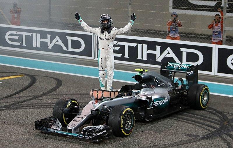 فوز ألماني مزدوج لأول مرة في تاريخ فورمولا 1