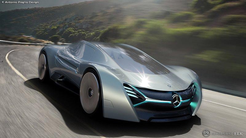مرسيدس ELK سيارة خارقة للمستقبل