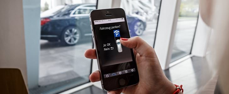 مرسيدس وبوش تطوران خدمة اصطفاف ذاتي للسيارات
