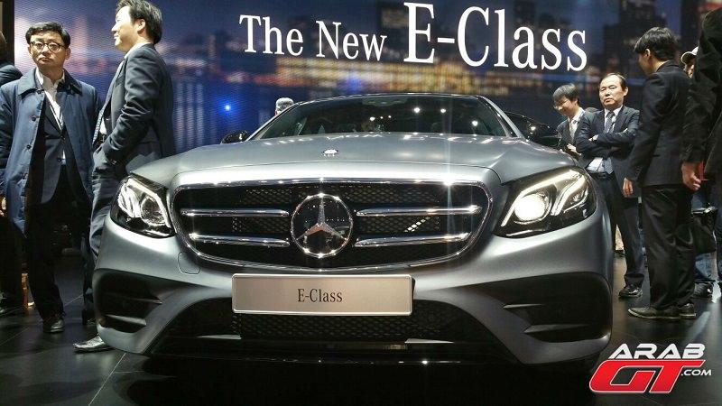 E-Class 2016 الجديدة بالكامل تبدأ خطواتها الرسمية الأولى