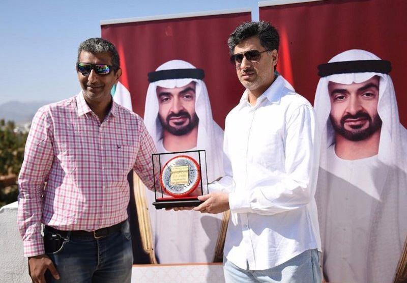 مروان بن راشد المعلا يتوج أبطال سباقات السرعة في مصر