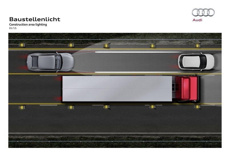 تقنيات اضاءة مستقبلية ستنقل سيارات اودي إلى مستوى آخر