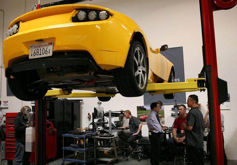 مصنع تيسلا للسيارات