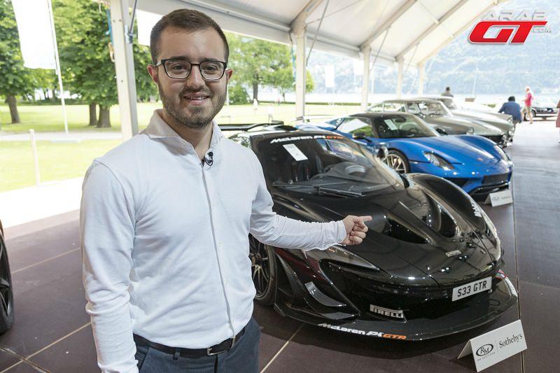 معرض سيارات الأناقة في إيطاليا