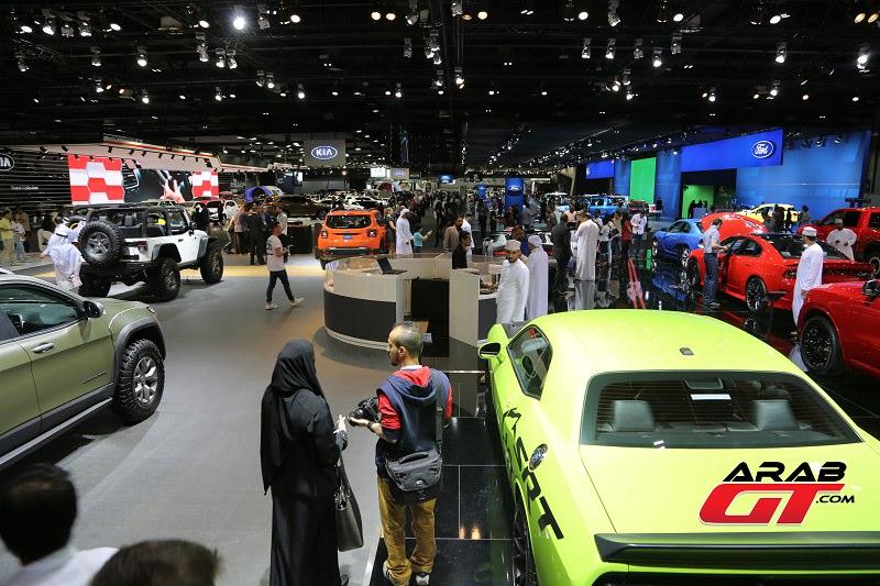 معرض دبي الدولي للسيارات 2017