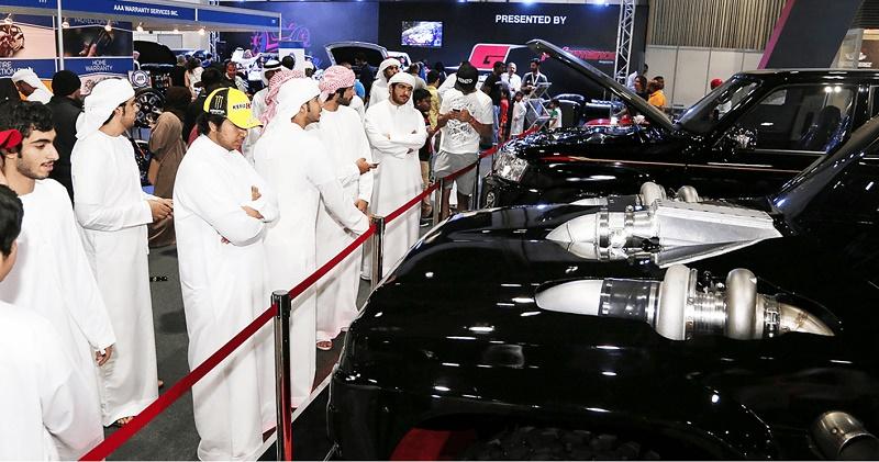 أسعار تذاكر معرض دبي الدولي للسيارات ومواعيد الزيارة