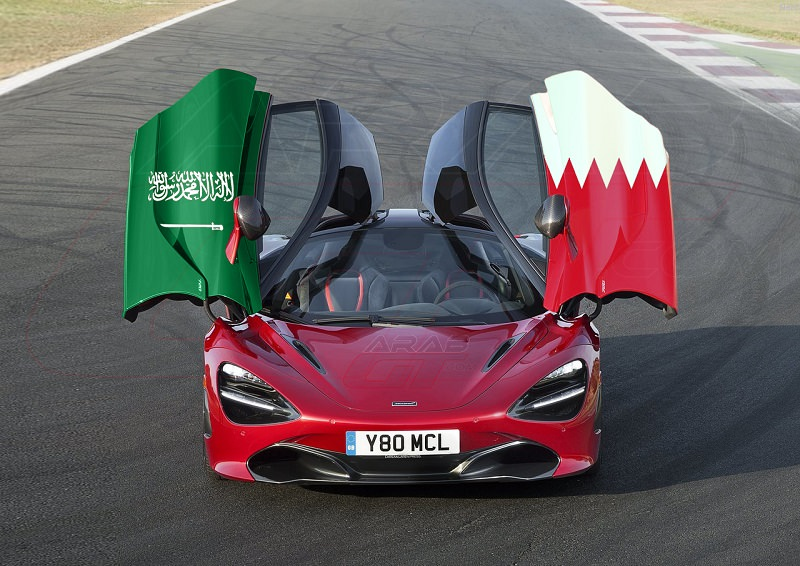 البحرينيون والسعوديون يحكمون قبضتهم على مكلارين