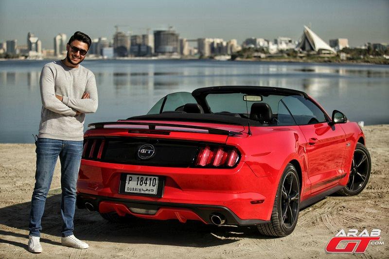 موستنج جي تي 2016 تحت تجربة عرب جي تي