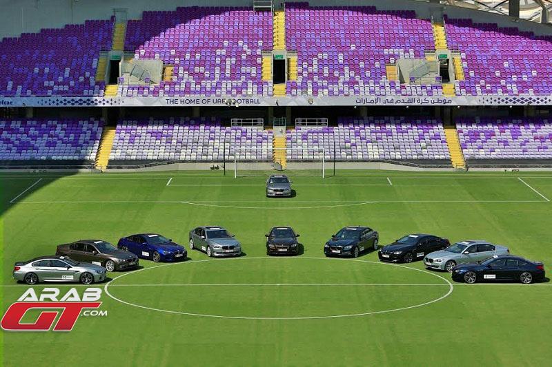 فريق العين الاماراتي يتسلم سيارات بي ام دبليو الجديدة