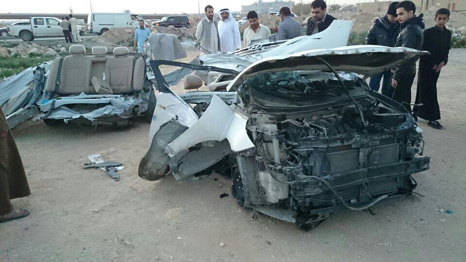 مرور الرياض ينفي تهمة التفحيط عن سوناتا المحطمة