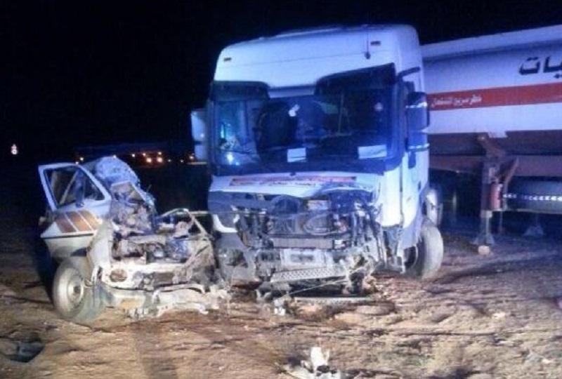 مصرع سائق تحت عجلات شاحنة في السعودية