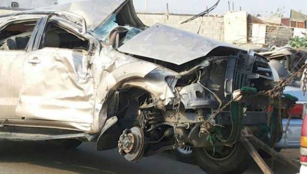 مصرع 3 واصابة 7 من نفس العائلة في حادث شنيع في السعودية
