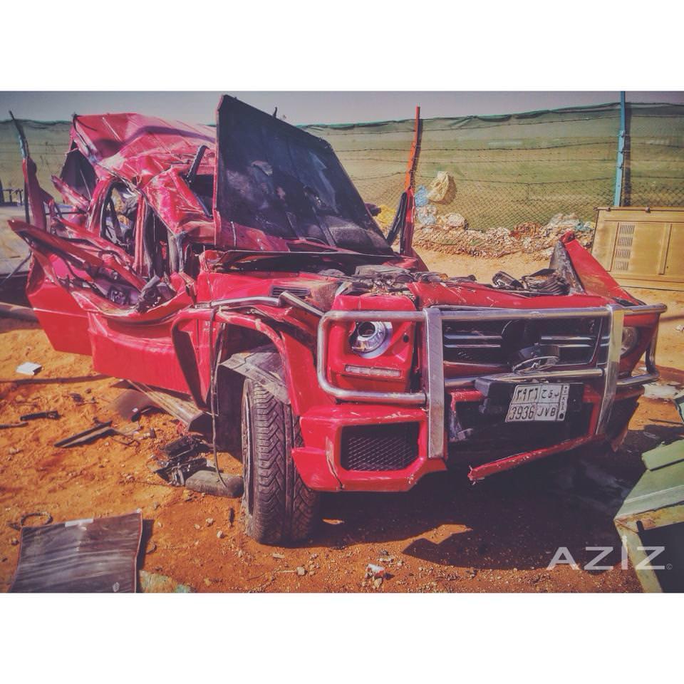 سائق يفقد حياته على متن مرسيدس G63 AMG في الرياض
