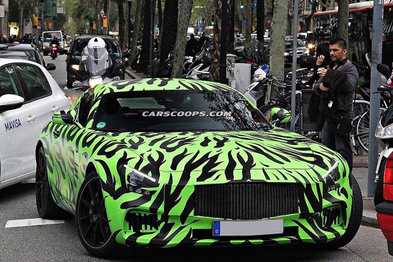 اختبار مرسيدس AMG GT طراز 2016 قبل اطلاقها