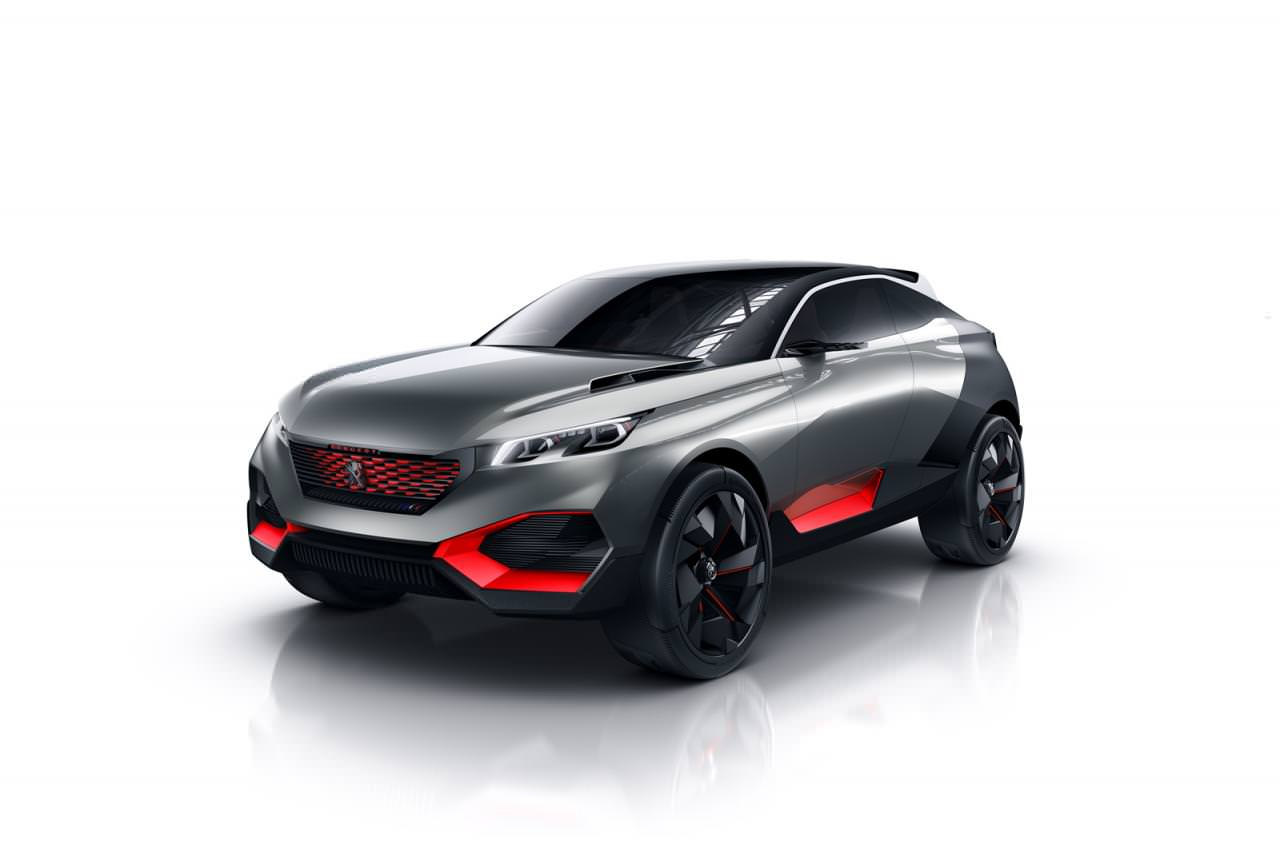بيجو تكشف عن مركبة SUV اختبارية هجينة تحمل اسم كوارتز