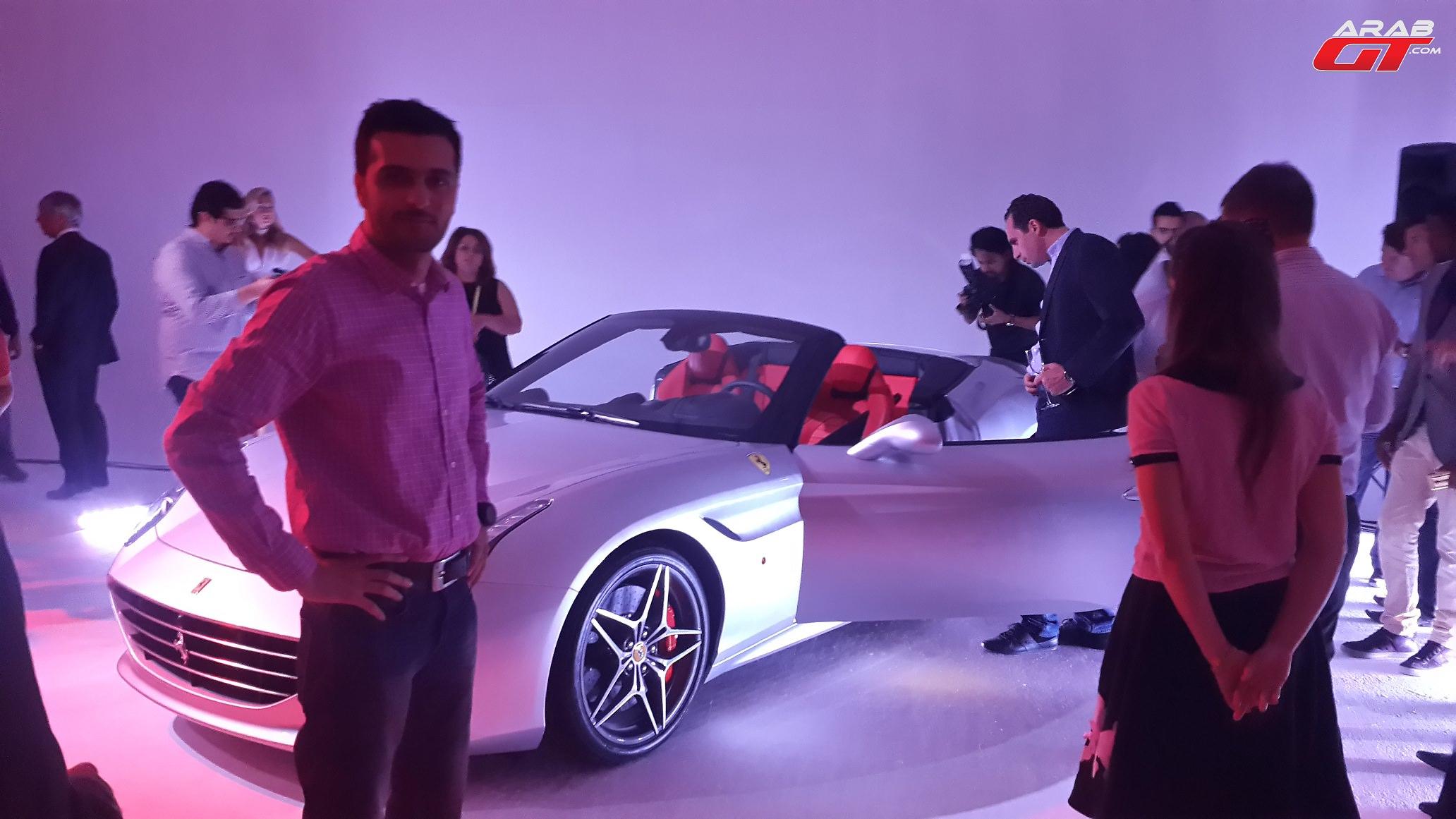تغطيتنا لاطلاق فيراري كاليفورنيا T طراز 2015 في دبي