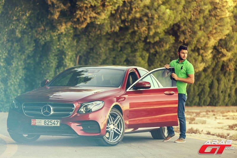 مرسيدس اي كلاس 2017 تحت تجربة عرب جي تي