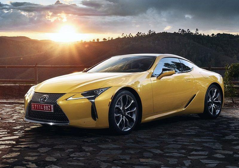 لكزس LC F اسم سيارة جديدة قادمة