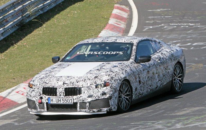 أول صور تجسسية لسيارة BMW M8 القادمة