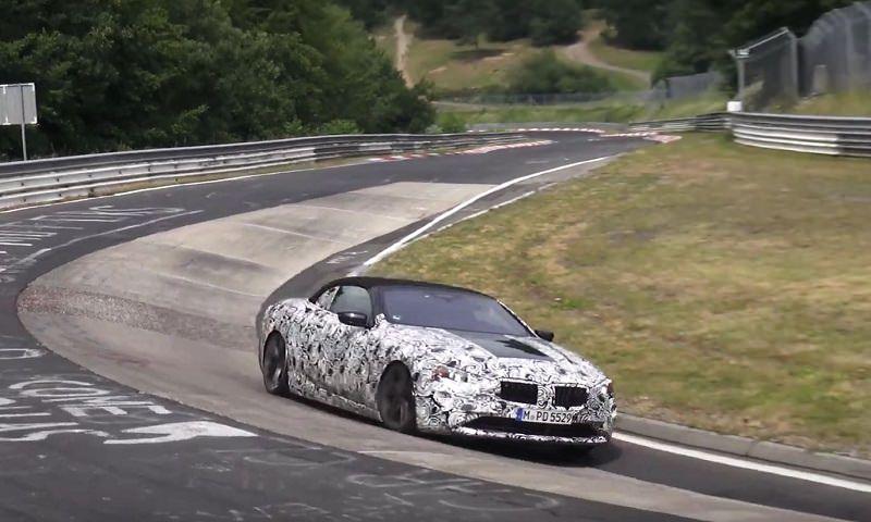 BMW الفئة الثامنة رودستر 2019 تستعرض سرعتها سراً