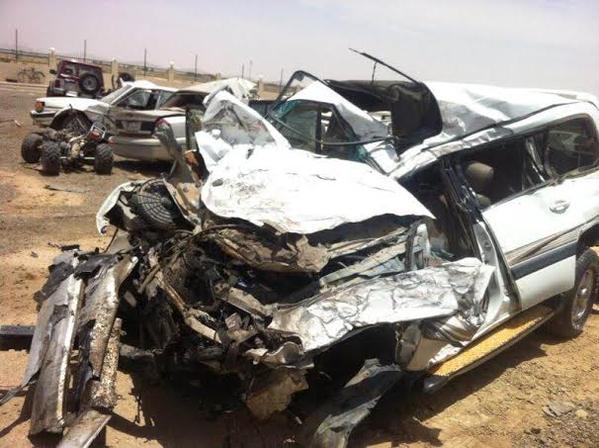 وفاة سعودية فور سماعها خبر مصرع زوجها وابنتها جراء حادث