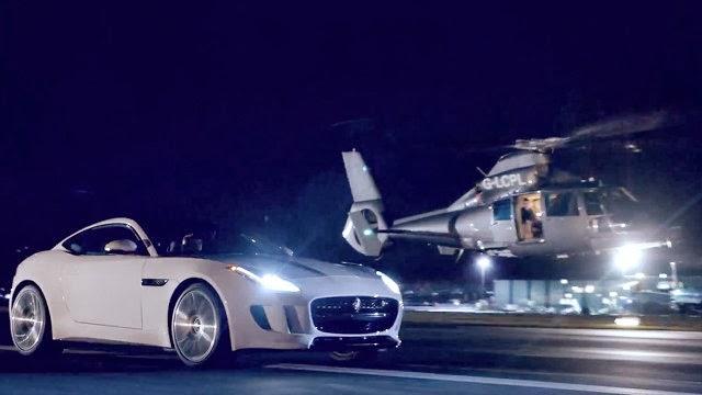 جاغوار تدخل عالم هوليوود مع F-Type كوبيه 2015