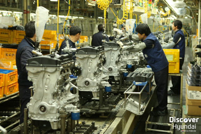 جولتنا الخاصة داخل مصانع هيونداي في كوريا