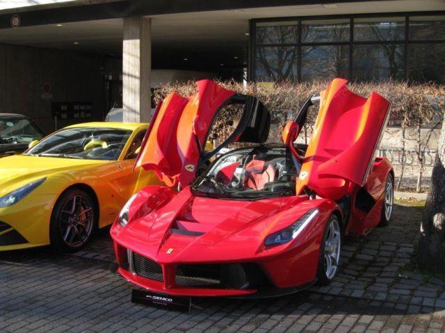 لافيراري تصل الى سوق السيارات المستعملة