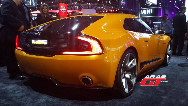 كيا GT4 ستينغر تتواجد في معرض نيويورك