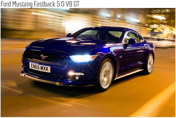 Ford Mustang Fastback 5.0 V8 GT-فورد موستنج جي تي
