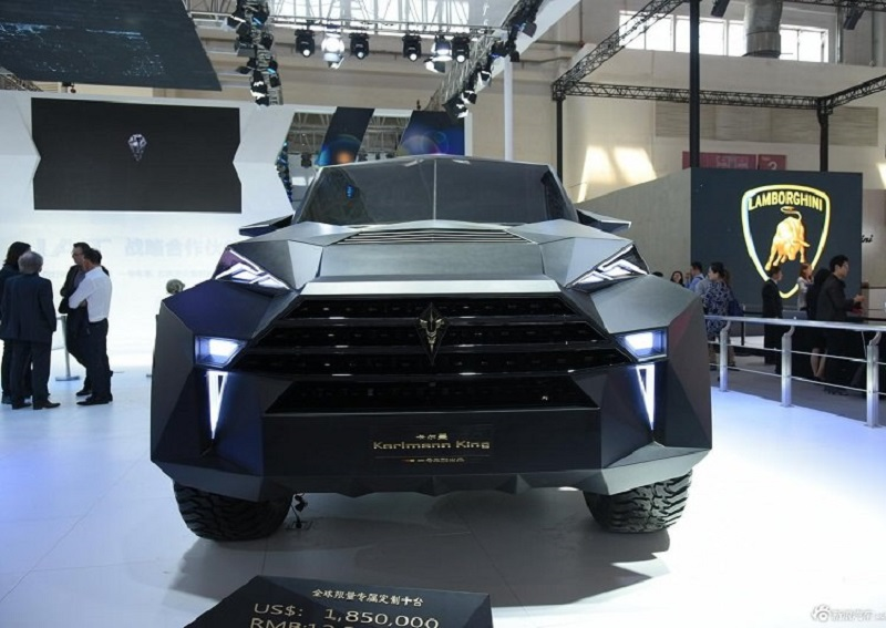 سيارة صينية جديدة