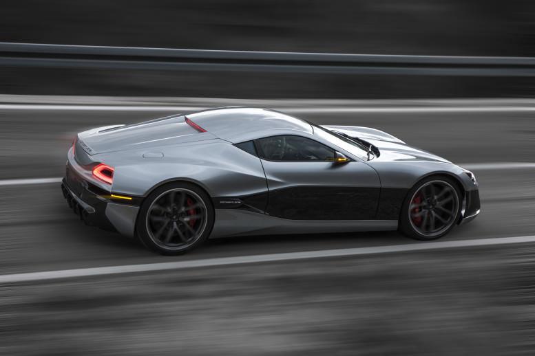 سيارة Rimac Concept One النادرة تظهر تسارعها المذهل