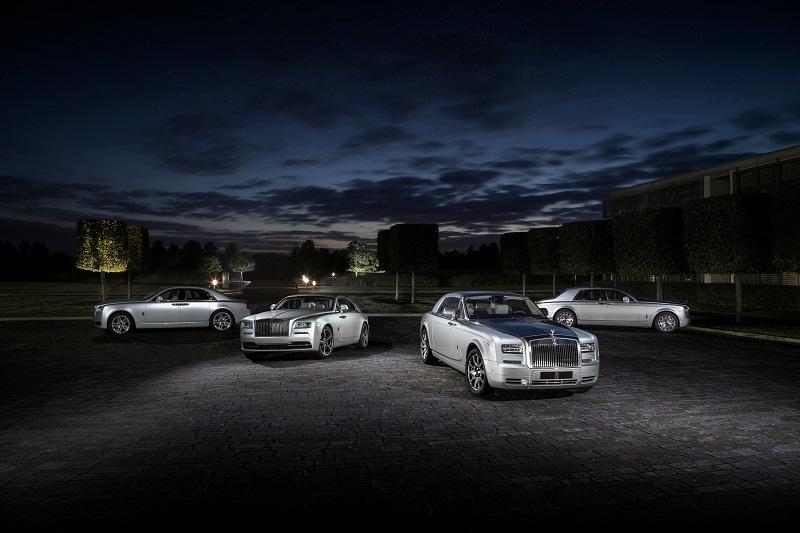 """مجموعة """"نجم سهيل"""" الحصرية من سيارات رولز رويس تصل إلى الإمارات"""
