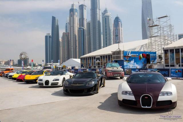 سيارات الاحلام تجتمع معا في دبي