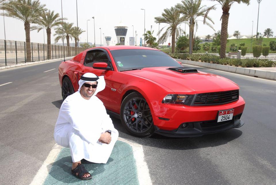 نسخة اماراتية مميزة من موستنج GT
