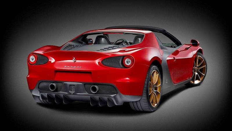 النسخة الأولى من سيارة فيراري سيرجيو النادرة ستذهب إلى الإمارات