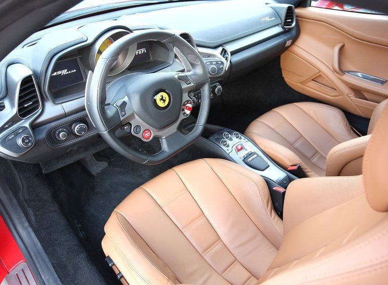 فيراري 458 ايطاليا 2010