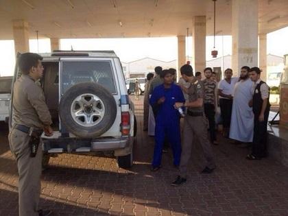 السلطات السعودية تغلق محطة وقود