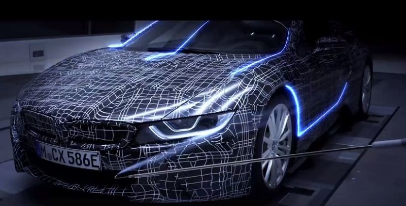 BMW i8 سبايدر