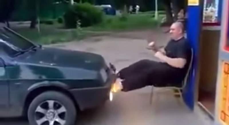 الطريقة الروسية لممارسة رياضة القدمين
