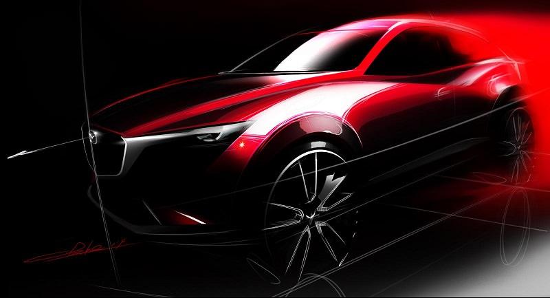 تحديد موعد الكشف عن سيارة مازدا سي اكس 3 الجديدة