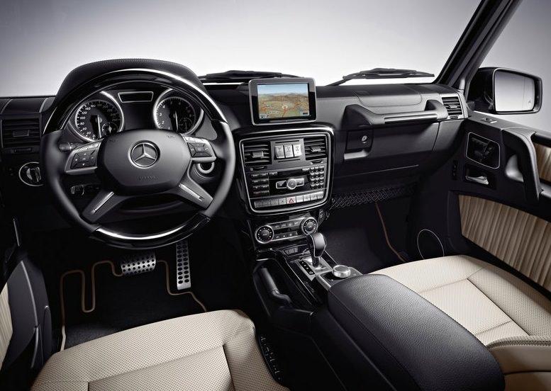 سيارة مرسيدس جي كلاس 2013 من الداخل